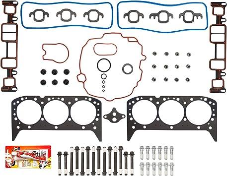 Head Gasket Set Bolts Kit Fits 94-95 GMC Sonoma 4.3L V6 OHV 12v VORTEC Cu.262