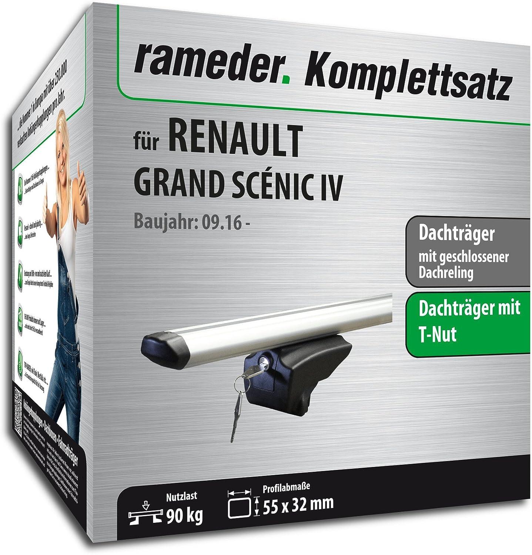 111287-36986-1 Rameder Komplettsatz Dachtr/äger Pick-Up f/ür Renault Grand SC/ÉNIC IV