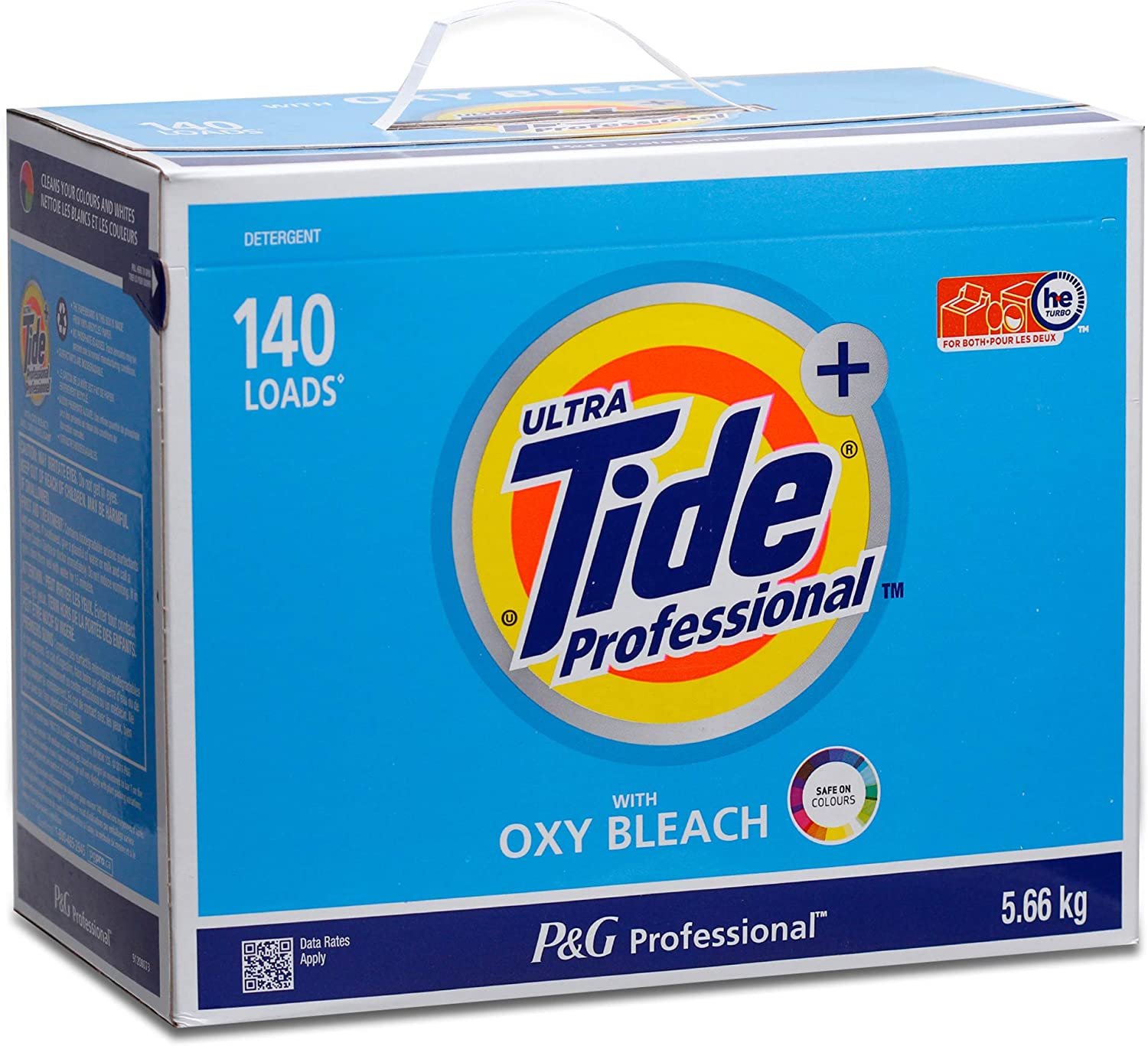 Tide Professional Ultra with OXY Power Powder Detergent For Color & White Laundry - 15.5 lbs (140 Loads)