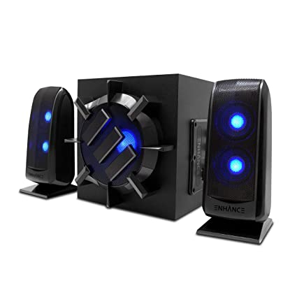 ENHANCE 21 Computer Speaker System With Powered Subwoofer