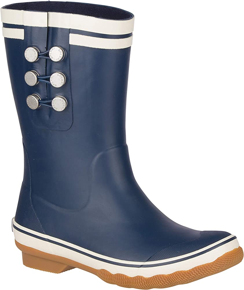 Sperry Womens Saltwater Tall Rain Boots