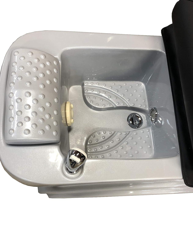 Amazon.com: Spa SB-405 - Silla de pedicura (tubo gris): Beauty