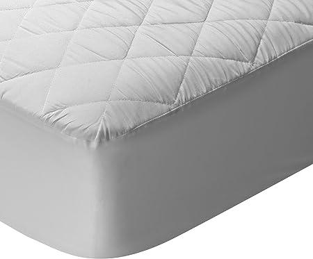 Imagen dePikolin Home - Protector de colchón/Cubre colchón acolchado, transpirable, 160x190/200cm-Cama 160 (Todas las medidas)