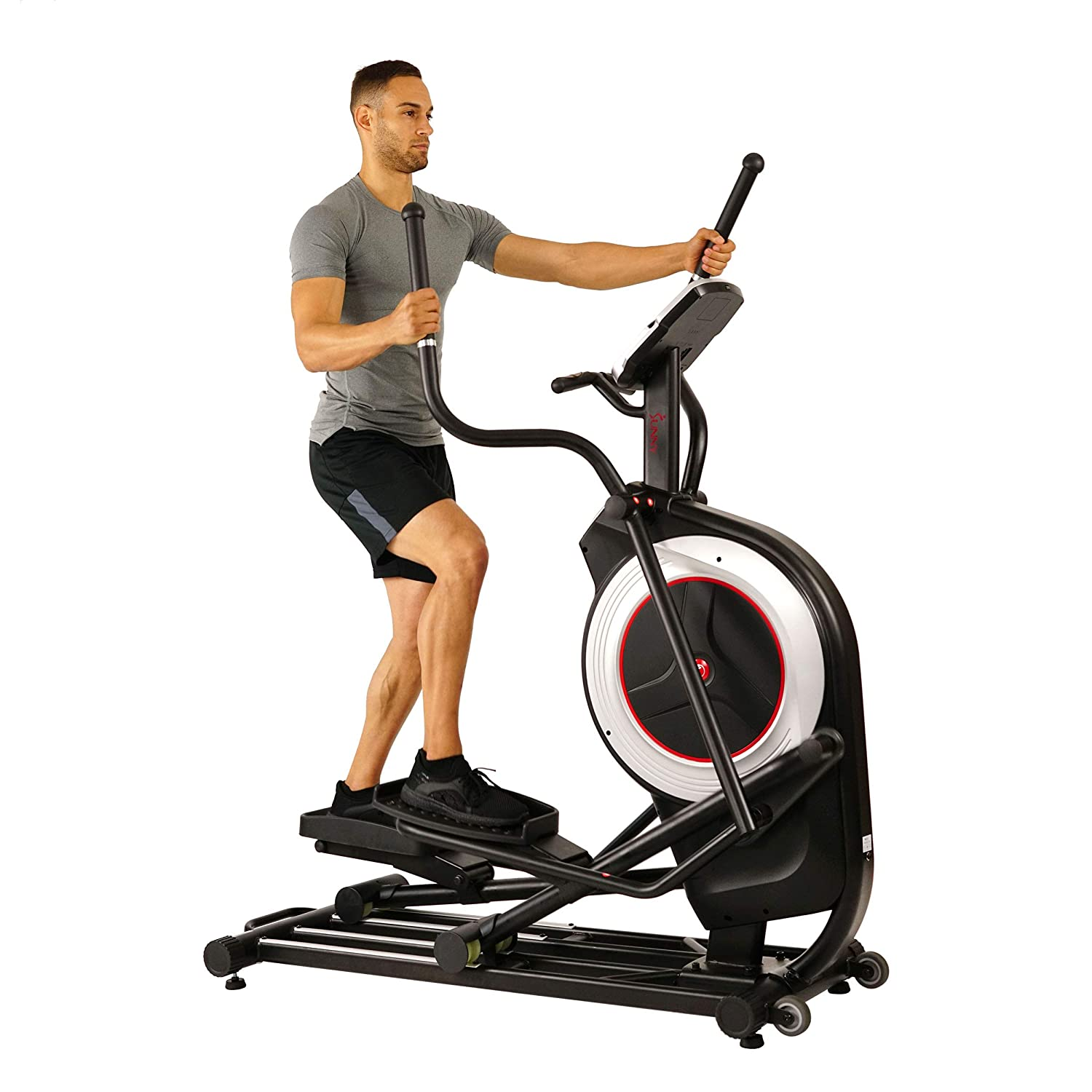Health & Fitness Motorized Elliptical Trainer Elliptical Machine with Programmable Monitor, High Weight Capacity and 20 Inch Stride