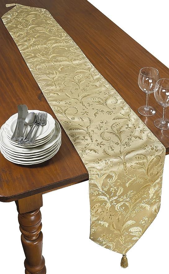 Green 13 x 90 LEGACY DMSK-H Violet Linen Legacy Damask Table Runner 13 x 90