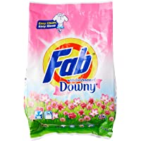 Fab Powder Detergent, Downy, 2.1kg