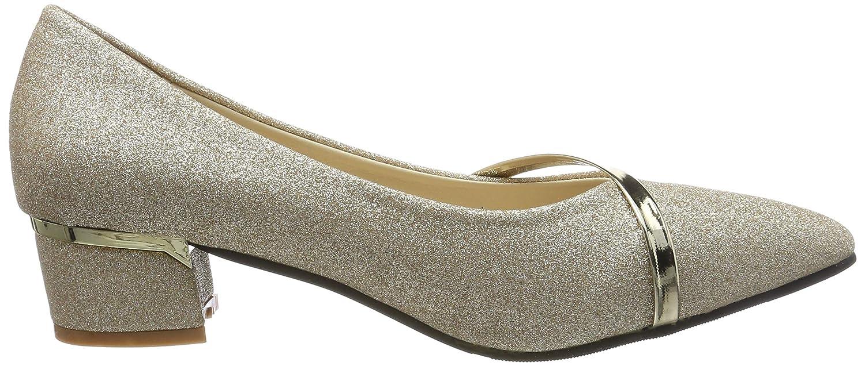 6c7dfac565 Zapatos Tacón Qimaoo Alto Tacones Elegante Fiesta y Boda Noche para Mujer  Zapatos de Noche Elegantes de Las Mujeres  Amazon.es  Zapatos y complementos