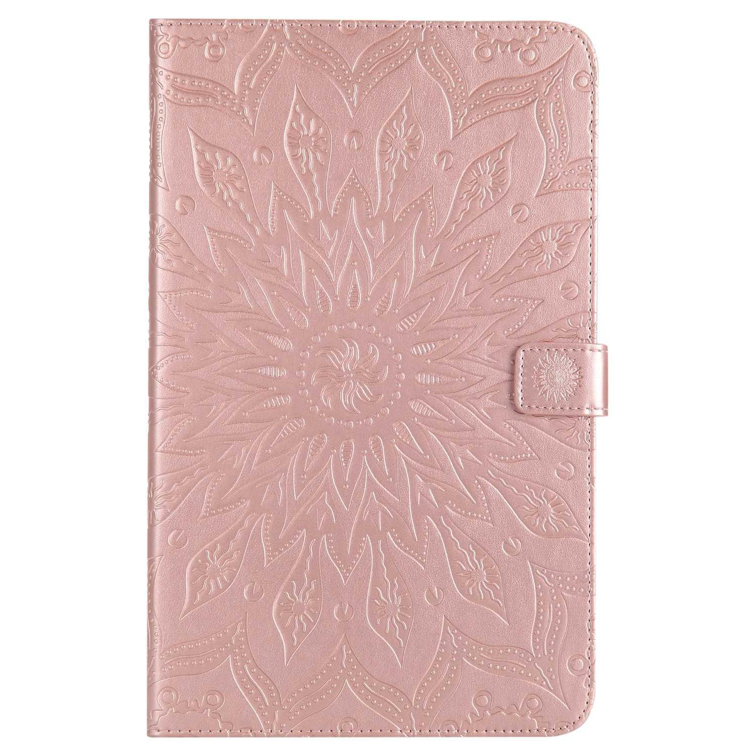 Bear Village Galaxy Tab a 10.1 Inch Case, Anti Scratch Shell with Adjust Stand, Full Body Protective Cover for Samsung Galaxy Tab a 10.1 Inch, Rose Gold by Bear Village