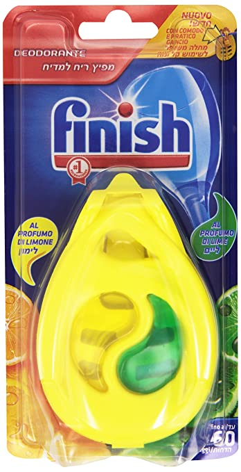 16 opinioni per Finish- 4 Deodoranti per Lavastoviglie, Profumo di Limone