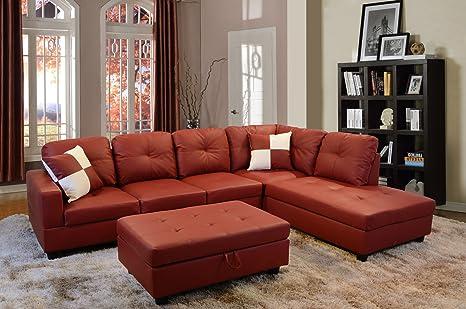 Amazon.com: Lifestyle Furniture LS094A - Juego de sofá de 3 ...