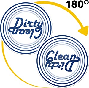 Dishwasher Magnet Clean Dirty Sign Indicator - Double Sided Flip