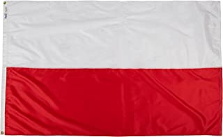 product image for Annin Flagmakers Model 196828 Poland Flag Nylon SolarGuard NYL-Glo, 4x6 ft, 100% Made in USA to Official United Nations Design Specifications