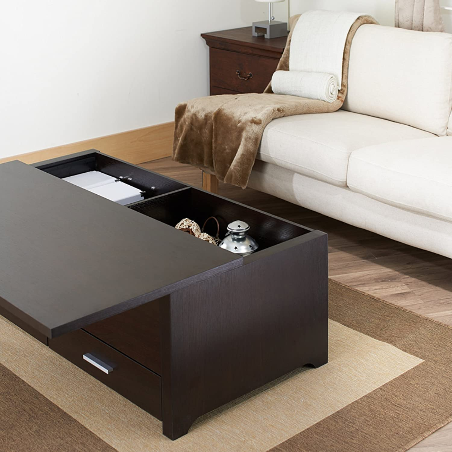 Amazon Furniture of America Knox Coffee Table Kitchen & Dining