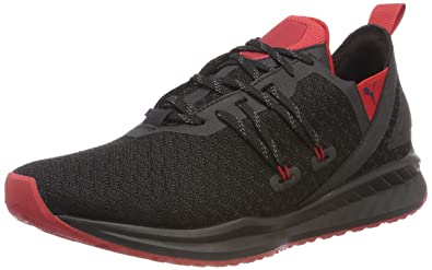 Puma Men s Ignite Ronin Black-Ribbon Red Running Shoes  Buy Online ... ba0288414