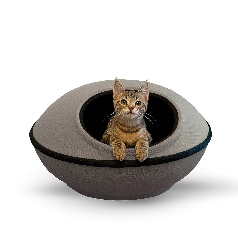 K &H Pet Products Mod Dream Pod Pet Bed G  /Black 22