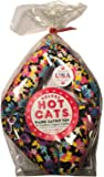 Deluxe Hot Cats Four Link Catnip Sausage Cat Toy - Variety Design 17""