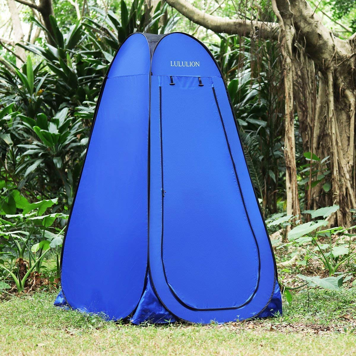 Portable Dressing Changing Room Privacy Shelter Tent for Outdoor Camping Beach Toilet and Indoor Photo Shoot with Carrying Bag 6.25Ft iBaseToy Anti-Peeping Pop-up Shower Tent
