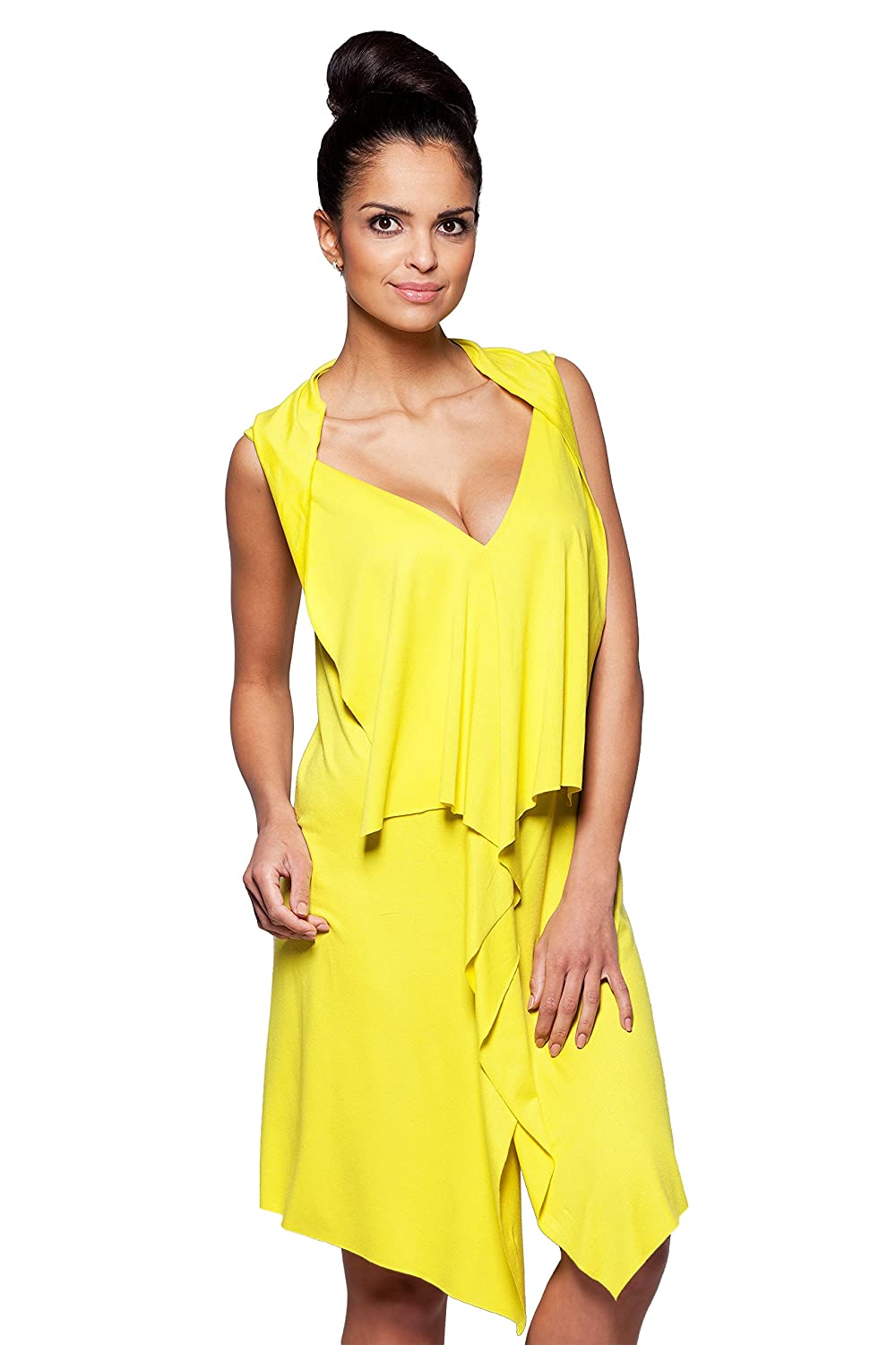Extravagant Nightshirt Nightdress Yellow