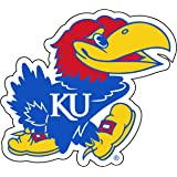 SINGLE Kansas Jayhawks Cornhole Wrap Skin Decal Vinyl NCAA Mascot NK168