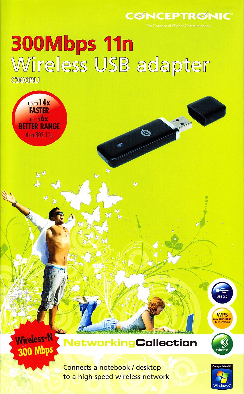 CONCEPTRONIC WIRELESS 300N USB ADAPTER DRIVER FOR WINDOWS 7
