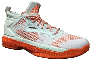 buy popular f6e57 7df64 adidas D Lillard 2.0 Basketball Shoes, 15.0 D(M) US, White