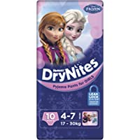 Huggies DryNites Pyjama Pants, Girls, Size 4-7 Years (10 Pack)