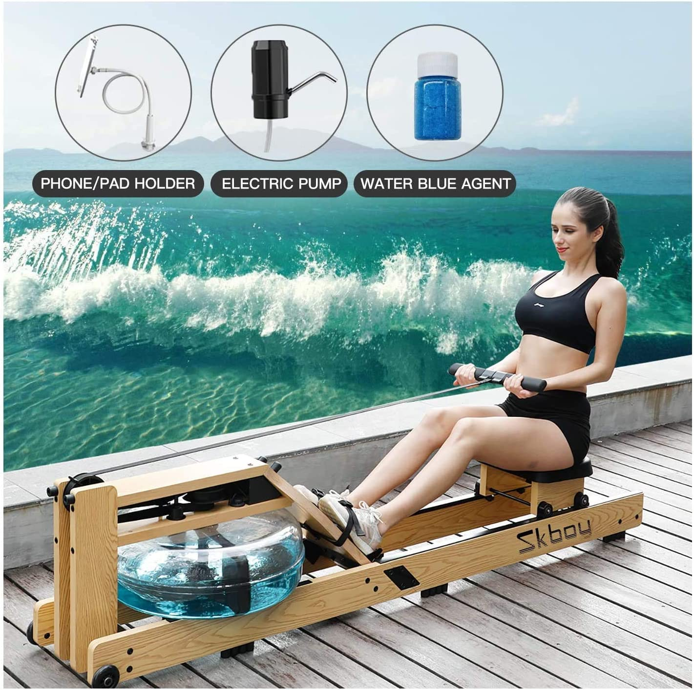 ER KANG Rowing Machine