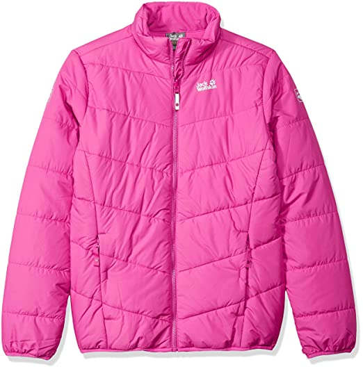 13c1e27a2de Amazon.com: Jack Wolfskin Girl's Kokkola Jacket: Clothing