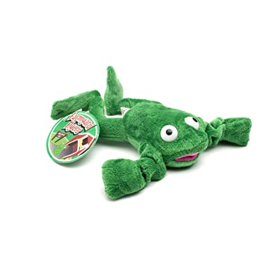 Playmaker Toys Flingshot Flying Frog, Green: Toys & Games