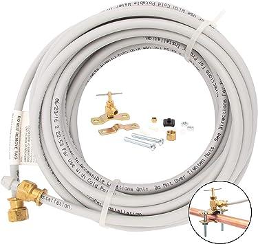 Whirlpool 8212547RP Pex Ice Maker Hook-Up Kit white