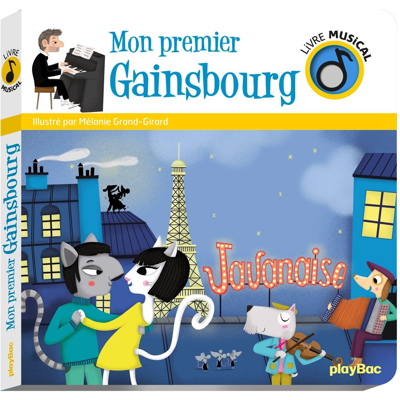 Amazon Fr Livre Musical Mon Premier Gainsbourg Melanie