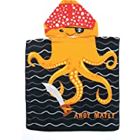 Juice Box Kids' Hooded Poncho Terry Towel