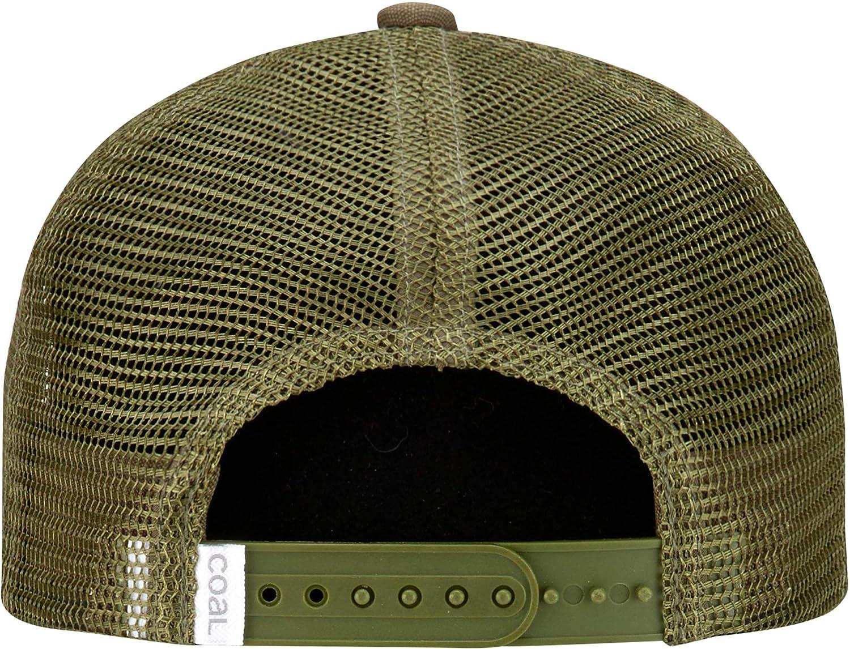 1f008d8d2 Coal Mens The Hauler Low Mesh Back Trucker Hat Adjustable Snapback ...