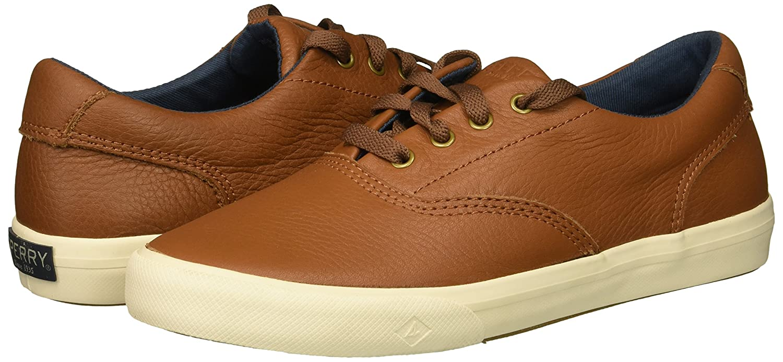 SPERRY Kids Striper Ii Leather Boat Shoe STK261114