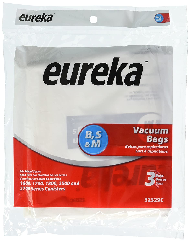 Genuine Eureka Style B Vacuum Bag 52329C - 3 bags