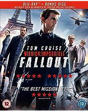 Mission: Impossible - Fallout Bonus Disc) [2018] [Region Free]