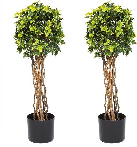 Amazon Com Pure Garden 30 Inch English Ivy Single Ball Topiary