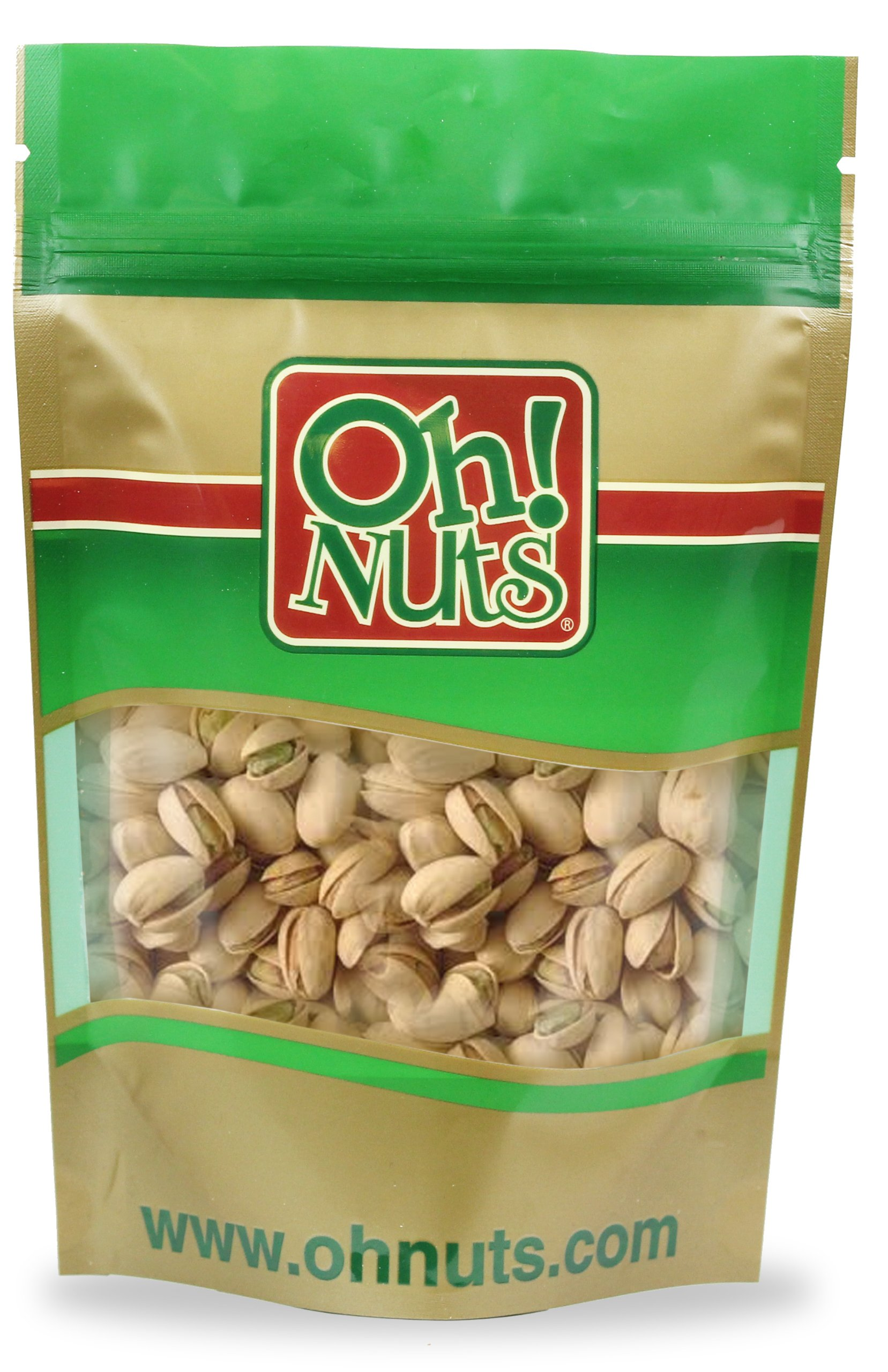 Roasted Pistachios Unsalted (5 Pound Bag) - Oh! Nuts
