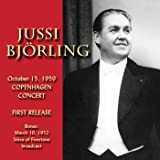October 15, 1959 Copenhagen Concert and the Voice of Firestone, Maech 10, 1952