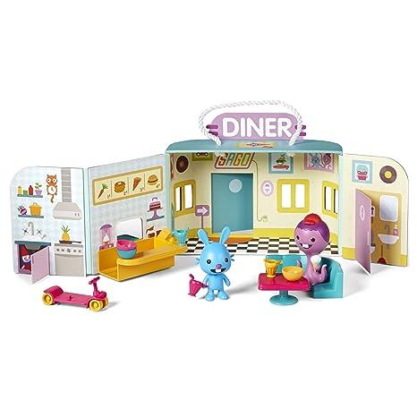 b5d1675382345 Amazon.com  Sago Mini Portable Playset - Jack s Diner