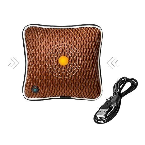 Almohada eléctrica de masaje inalámbrica - Masaje vibratorio ...