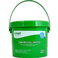 Paquete universal de 225 toallitas para cubeta Clinell