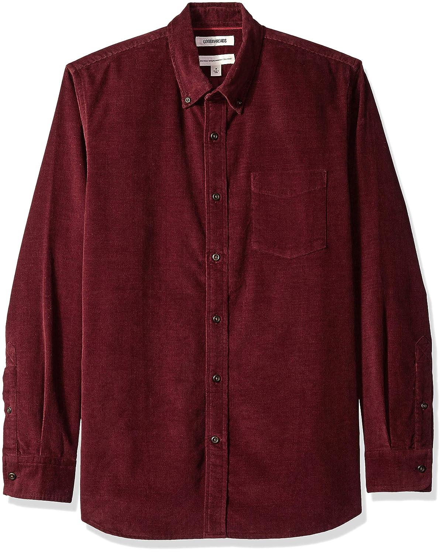 Brand Goodthreads Mens Standard-Fit Long-Sleeve Corduroy Shirt