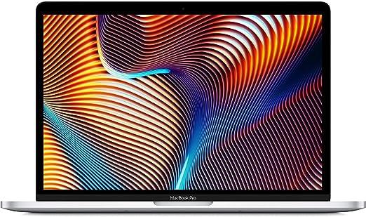 Apple MacBook Pro (13インチ, 一世代前のモデル, 8GB RAM, 512GBストレージ, 2.4GHzクアッドコアIntel Core i5プロセッサ) - シルバー - USキーボード