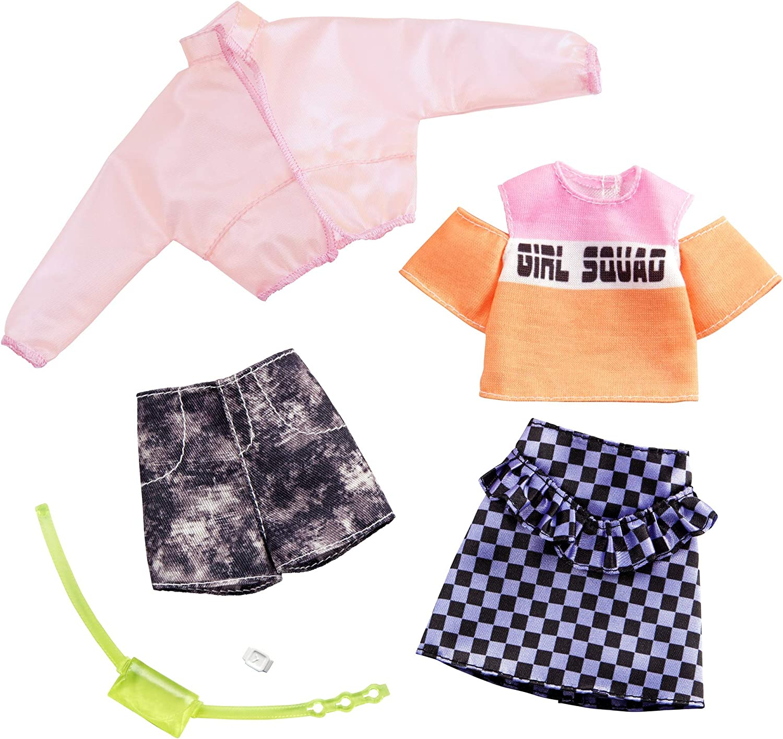 Amazon.es: Barbie Pack de Accesorios de Moda Chaqueta Transparente ...
