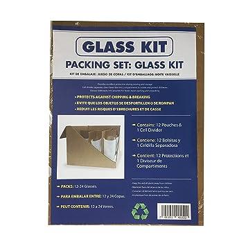 Amazon.com: uBoxes - Juego de divisores de cristal (12 ...
