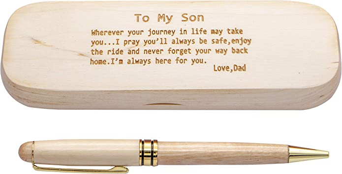 Handmade wooden pen anniversary gift birthday gift fathers day sustainable pen handmade pen unique wooden pen wedding gift