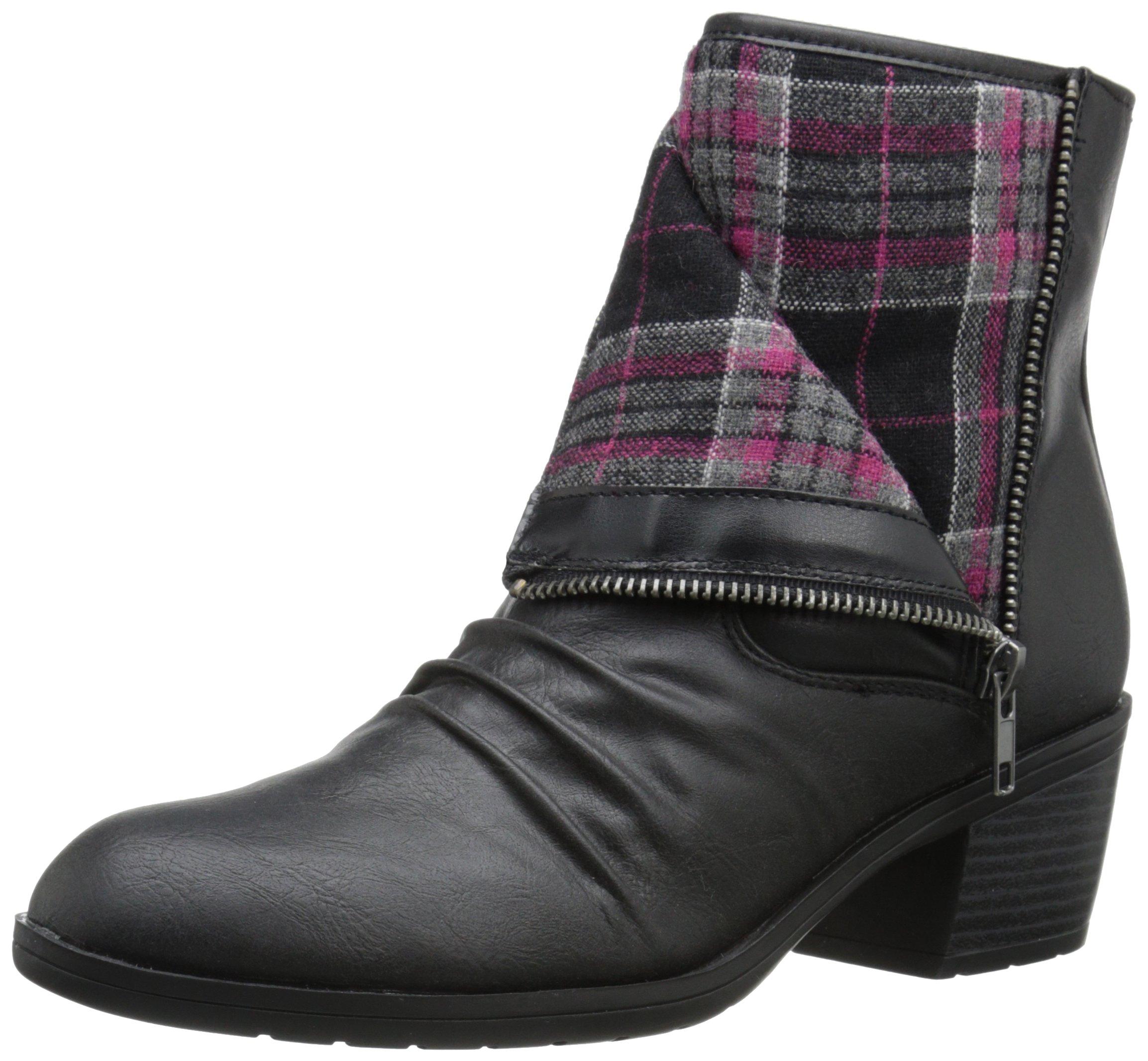 LifeStride Women's Watchful Boot, Black, 6.5 M US