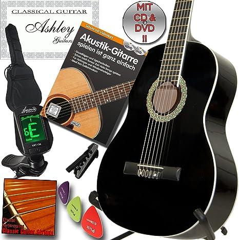 Ashley - Guitarra clásica para conciertos (incluye libro de texto ...