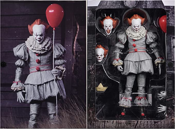 "IT 2017 7"" Scale PVC Action Figure - NEC PVC Ultimate Pennywise"
